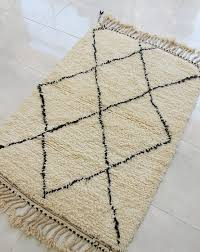 genuine moroccan hand knotted rug