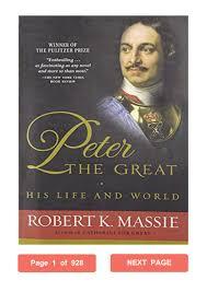 Peter the Great Robert K. Massie PDF His Life and World by alkaiidarw -  issuu