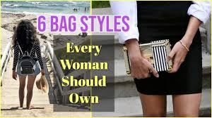 6 Types Of HANDBAGS Every Woman Should Have   Essential Bag Styles To Own   Himani  Aggarwal   Fashion bags, Types of handbags, Essential bag