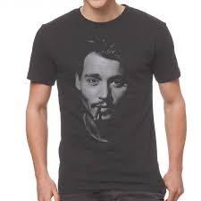 Johnny Depp T-Shirt – Black or Dark Grey - Shirts Alley