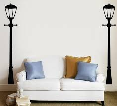 Street Lamps Black Wall Decal Allposters Com