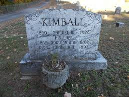 Addie R. Young Kimball (1865-1897) - Find A Grave Memorial