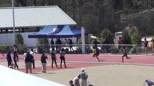 2013 Raleigh Relays 4x100m Relay - YouTube