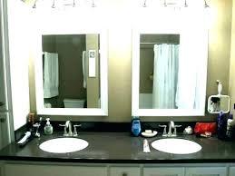 bathroom mirror edging