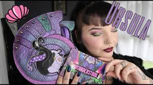 colourpop spectrum ursula makeup