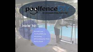 Poolfencediy Com Step By Step Self Closing Gate Assembly Instructions Youtube