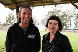 Falls Festival event manager Abby Allen and site manager Patrick ...