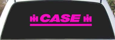 Amazon Com Case Ih Pink Custom Made Window Decal Sticker 9 X 24 Automotive