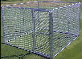 1 8m Height Strong Large Metal Dog Kennel Portable Dog Fence For Camping