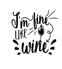 Wine Bottle Glass Cup Art Sticker Vinyl Decals Quote Sayings Transfer Gift Ebay