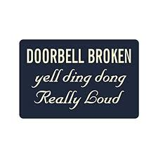 memory home hot funny saying quotes doorbell broken yell ding