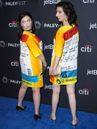 Rachel Bloom wears pill bottle dress at 'Crazy Ex-Girlfriend' event