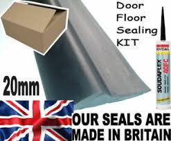 17ft 6 garage door rubber floor seal