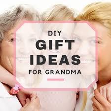 diy gift ideas for grandma