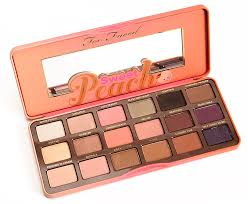 too faced sweet peach summer 2016
