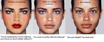 no makeup you look sick saubhaya makeup