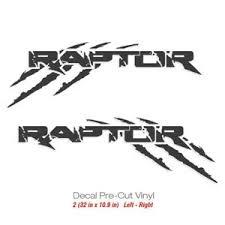 Ford Raptor Svt F150 Sport Truck Sticker Vinyl Decals Scratches Decal F 150 Fr2 Ebay
