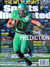 Byron Marshall Oregon Ducks autographed Sports Illustrated ...