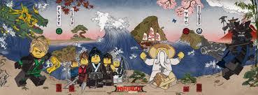 LEGO Ninjago Movie Poster Goes Ukiyo-e