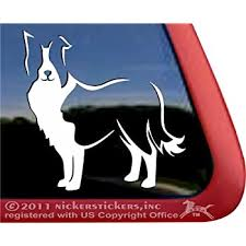 Amazon Com Custom Border Collie Dog Vinyl Window Auto Decal Sticker Automotive