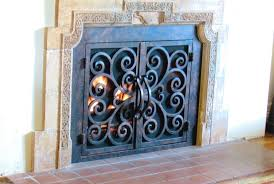 iron fireplace doors yougoplanet com