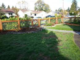 How To Build A Beautiful Wood Fence With Hog Wire Brwarrickengineering