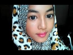 tutorial makeup simple indonesia