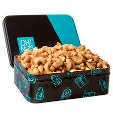 fresh roasted salted cashew gift tin