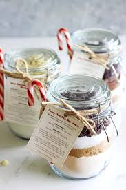 chocolate chip cookies in a jar