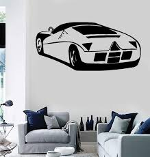 Wall Stickers Vinyl Decal Sport Race Car Garage Decor Unique Gift Ig5 Wallstickers4you
