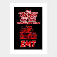 Emt Emts Poster Und Kunst Teepublic De