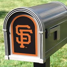San Francisco Giants Mailbox Logo Large Officially Licensed Outdoor Graphic