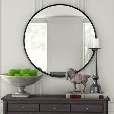 contemporary accent mirror