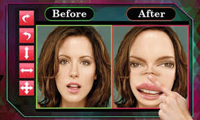 wrap face warp funny makeup face editor