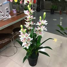 rods artificial plant orchid tree