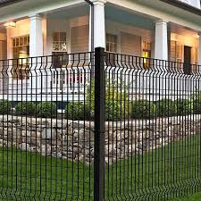 The Euro Style Fencing Is Our Only Steel Residential Design And Offers A More Industrial Look Ironcraft Lowes Fence Design Steel Fence Panels Steel Fence