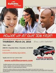 safelite autoglass job fair inbound
