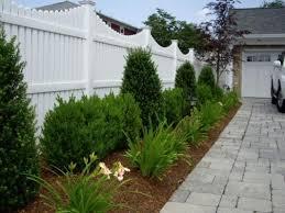 Vinyl Fence Design Ideas Pictures Fence Landscaping Vinyl Fence Landscaping Fence Design