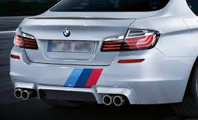 Product Bmw M Color Stripes Rally Back Trunk Racing Motorsport Vinyl Decal Sticker