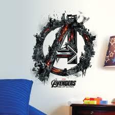 Avengers Iron Man Thor Hulk Mural Wall Sticker For Kids Room Free Shipping Wall Stickers Art