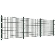6 M Fence Panel With Posts 1 6 M High Home Garden And Diy Tools Webshop