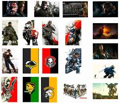 Amazon Com Gtotd Stickers For Metal Gear Solid 20pcs Gifts Mgs Metal Gear Solid Merch Decor Sticker Decals Of Vinyls For Laptop Window Gift Collection Skateboard Etc