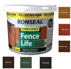 ronseal one coat timbercare dark oak 9