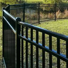Style 4 Ft Ultra Aluminum Fence Commercial Grade Uaf 200