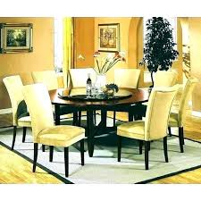 glass wood dining table with