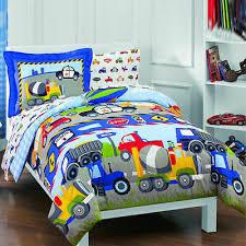 reversible twin size boy bedding set