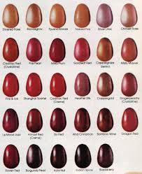 109 colors of revlon nail polish 1981