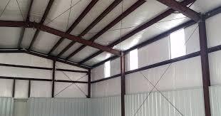 metal building insulation options