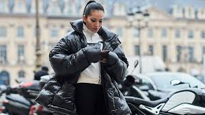 how to wear a puffer jacket women s