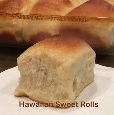hawaiian sweet rolls bread machine